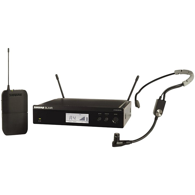ShureBLX14R Headset System with SM35 Headset microphoneBand H8