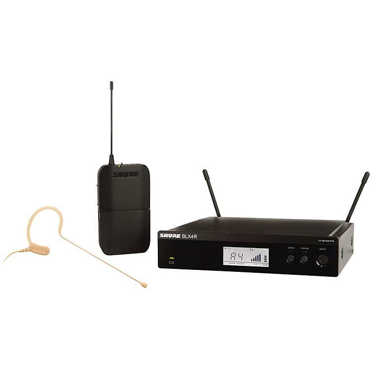 ShureBLX14R/MX53 Wireless Headset System with MX153 Headset MicBand J10