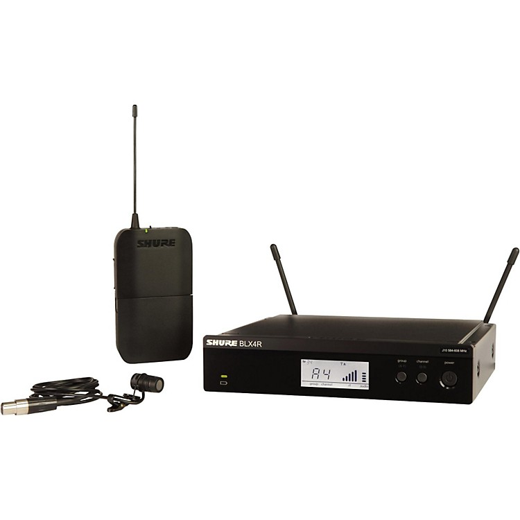 Shure BLX14R/W85 Wireless Lavalier System with WL185 Cardioid Lavalier Mic Band H9 888365908922
