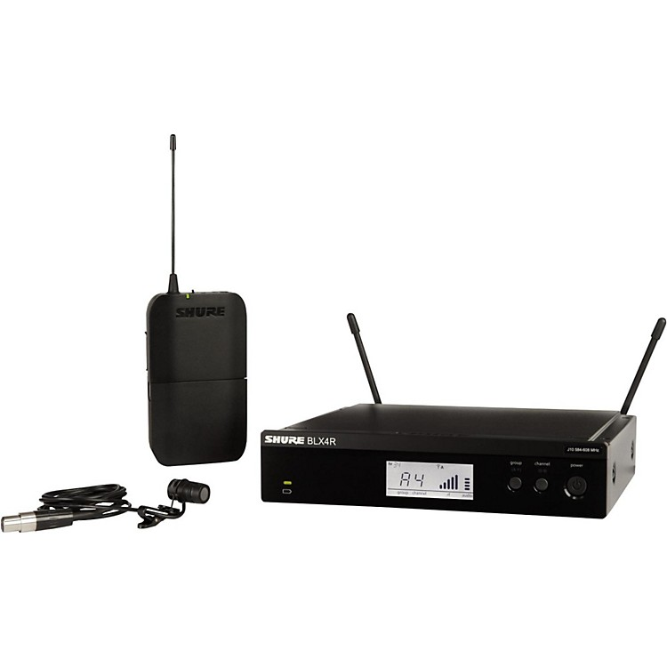 Shure BLX14R/W85 Wireless Lavalier System with WL185 Cardioid Lavalier Mic Band H9