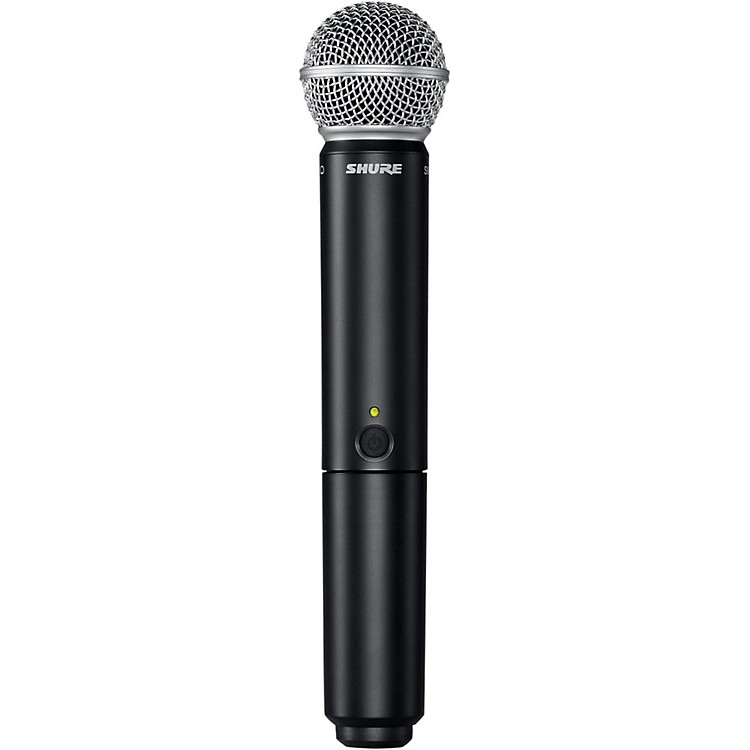 Shure BLX2/SM58 Handheld Wireless Transmitter with SM58 Capsule Band H9