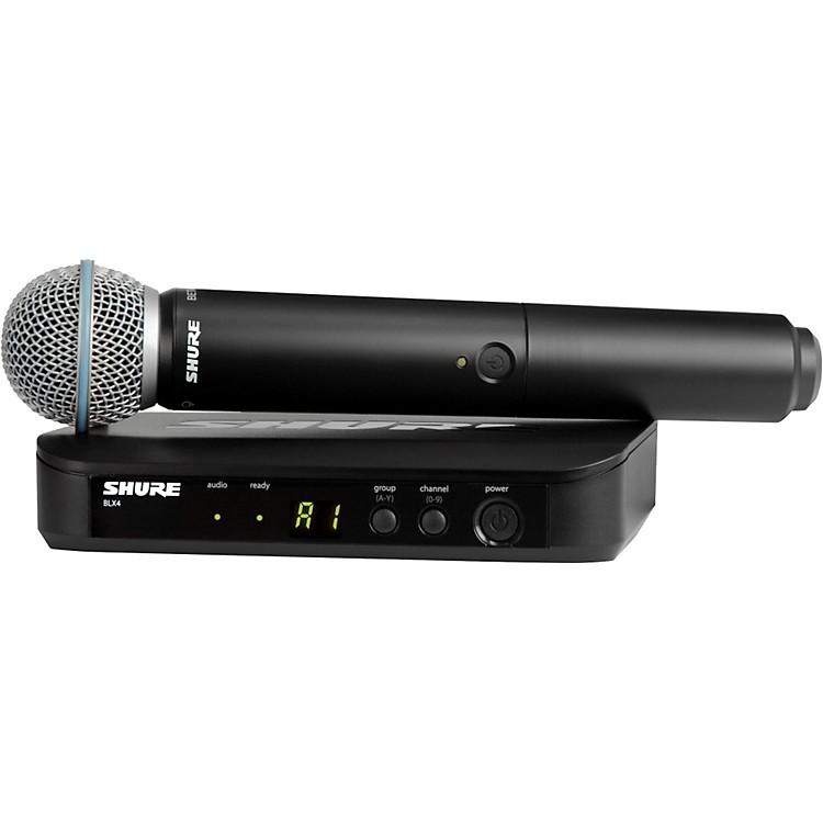 ShureBLX24/B58 Handheld Wireless System with Beta 58A CapsuleBand H10