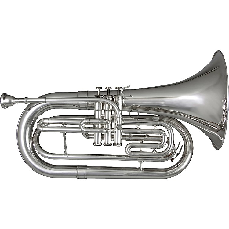 Blessing BM-301 Marching Bb Baritone Silver