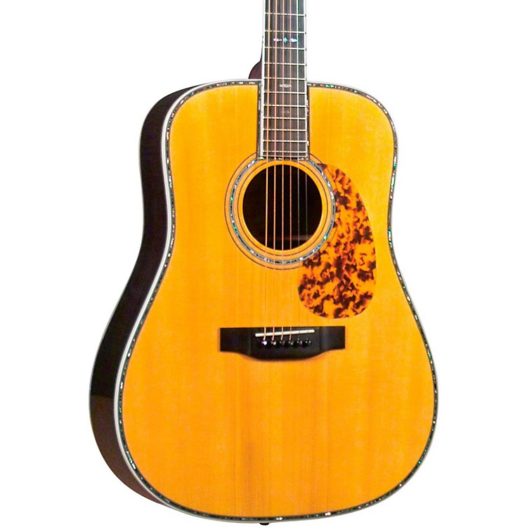 Blueridge BR-180A Adirondack Top Craftsman Series Dreadnought Acoustic Guitar Natural