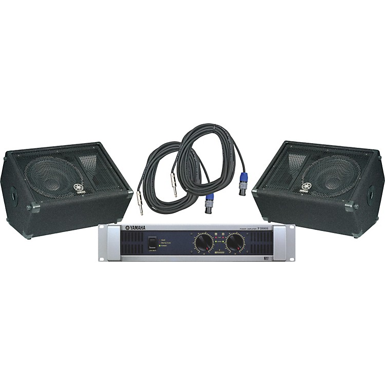 YamahaBR12M / P3500S Speaker & Amp Package
