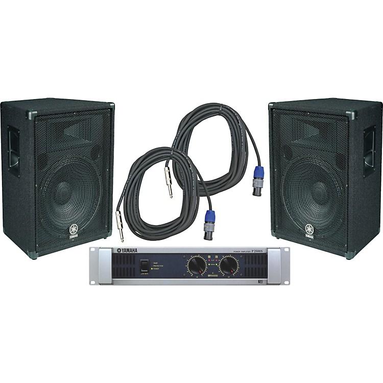 YamahaBR15 / P2500S Speaker & Amp Package
