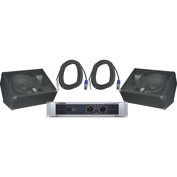 YamahaBR15M / P3500S Speaker & Amp Package