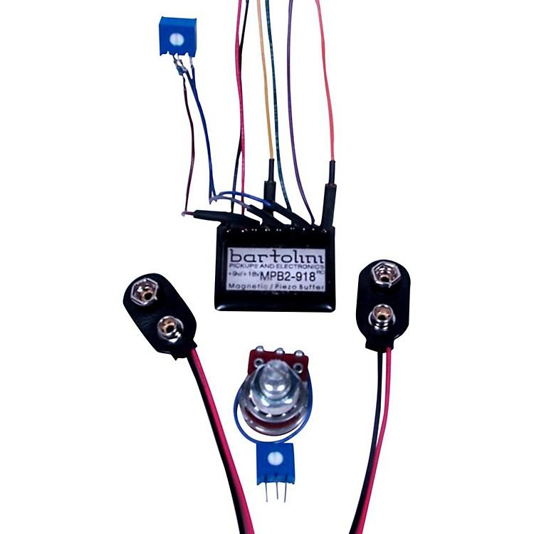 BartoliniBRMMPB2Kit/918 Magnetic and Piezo/Preamp with Pot Kit