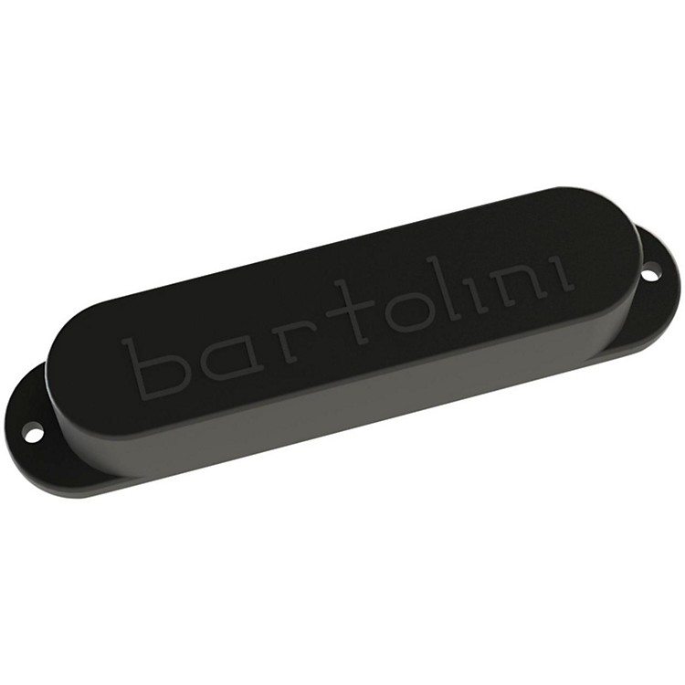 BartoliniBRP3D-01-N North Strat Bridge 6-String Guitar PickupBlack