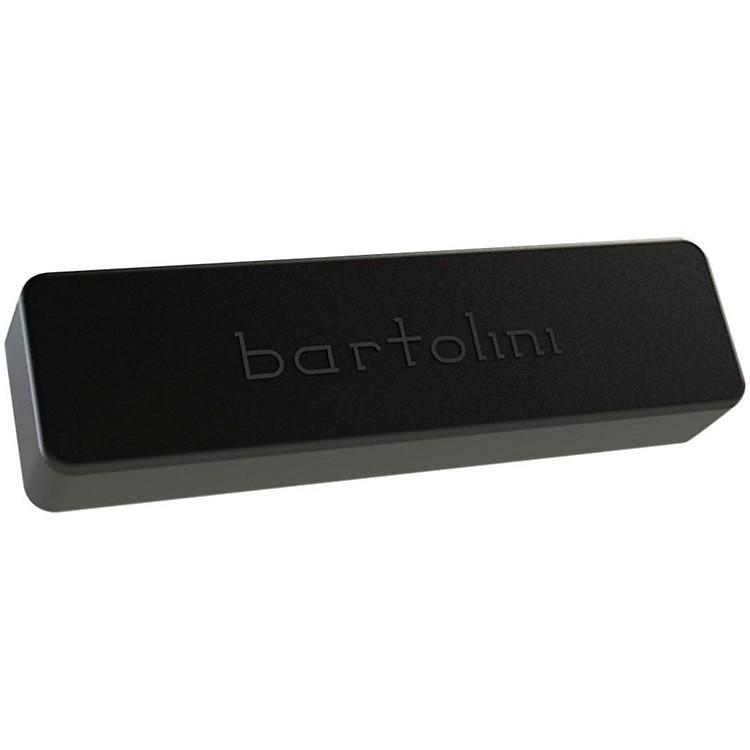 BartoliniBRP90P46CBC-B Classic P4 Soapbar Dual Coil Neck 6-String Bass Pickup