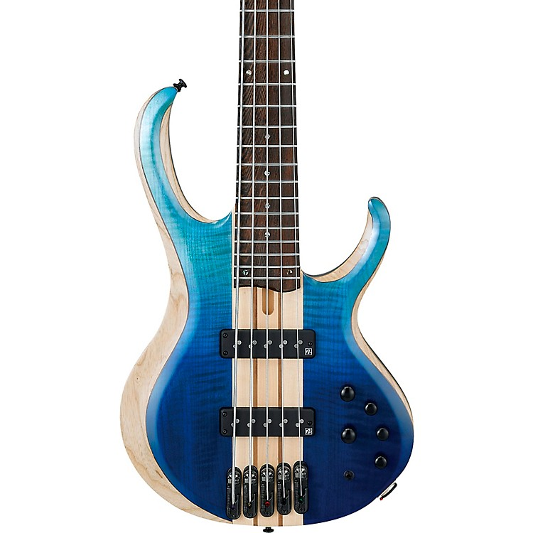 Ibanez BTB 20th Anniversary 5-String Electric Bass Blue Reef Gradation Low Gloss