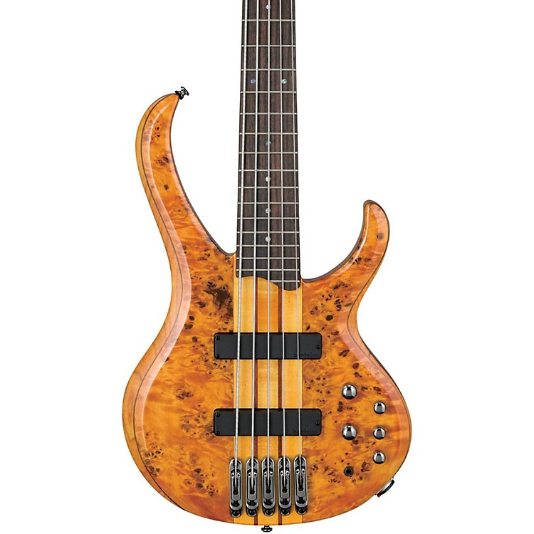 IbanezBTB 5-String Bass GuitarAmber