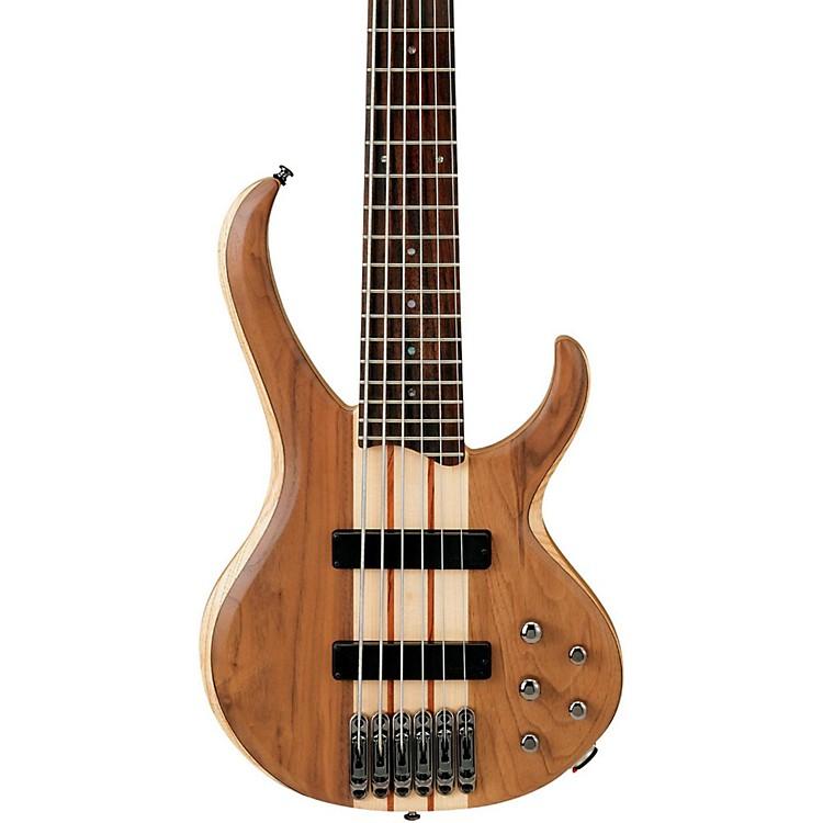 IbanezBTB676 BTB 6-String Electric Bass GuitarFlat Natural