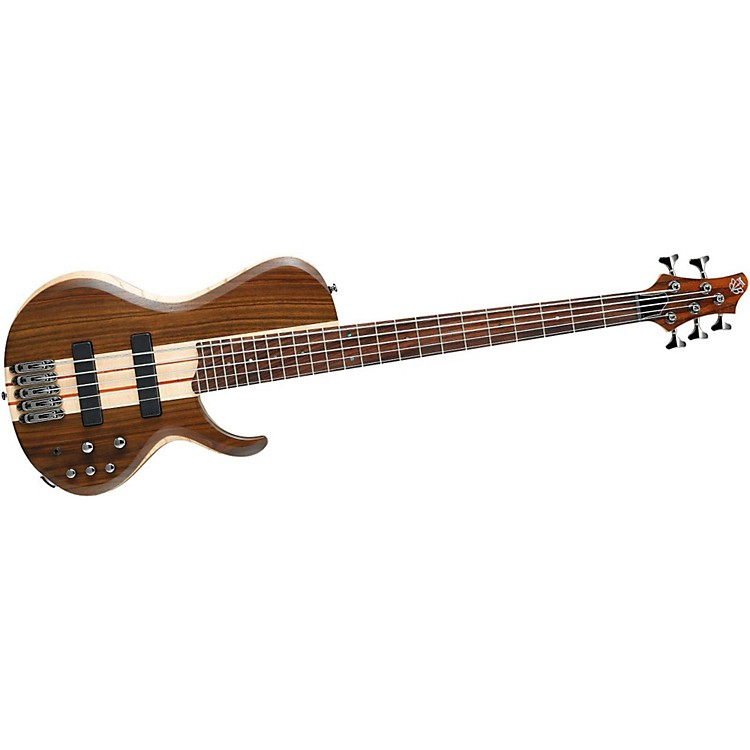 Ibanez BTB685SC Terra Firma with Bartolini Pickups 5-String Electric Bass Guitar Natural