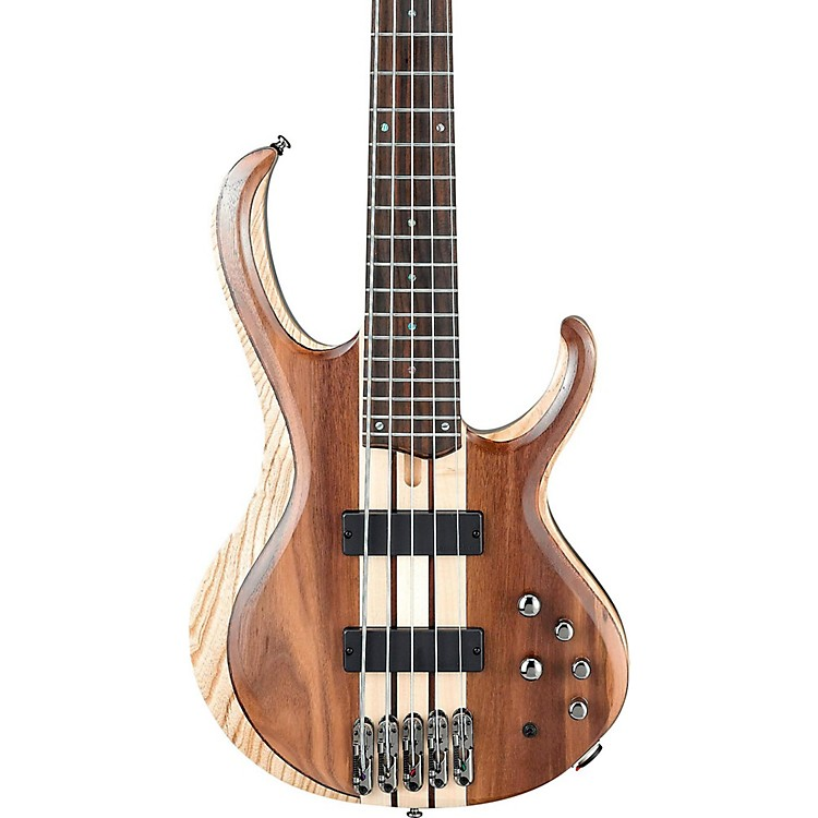 ibanez btb745 5 string electric bass guitar low gloss natural music123. Black Bedroom Furniture Sets. Home Design Ideas