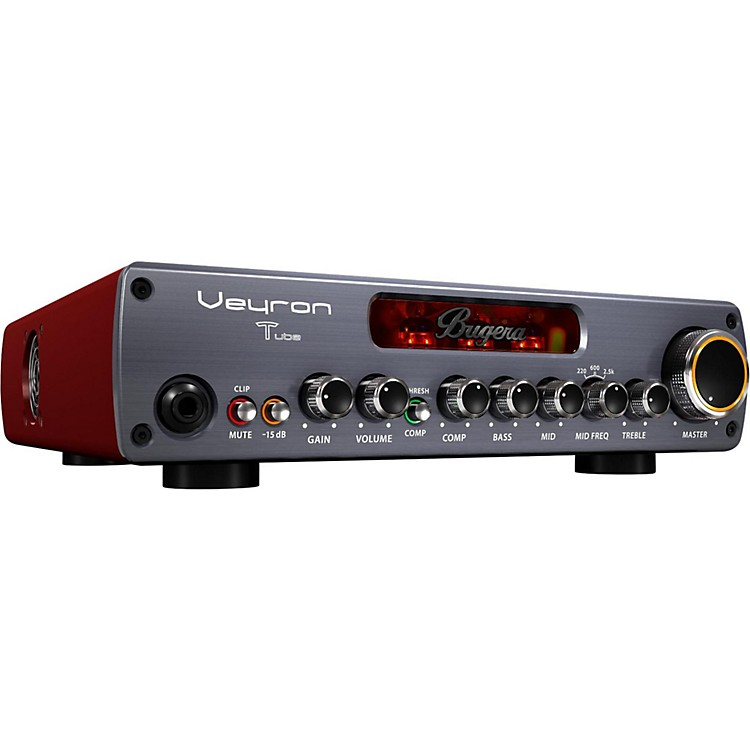 Bugera BV1001T Veyron Tube 2,000W Tube Hybrid Bass Amplifier Head Black