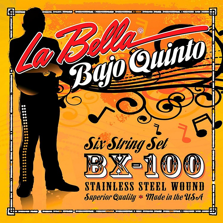 LaBellaBX100 Bajo Quinto Strings