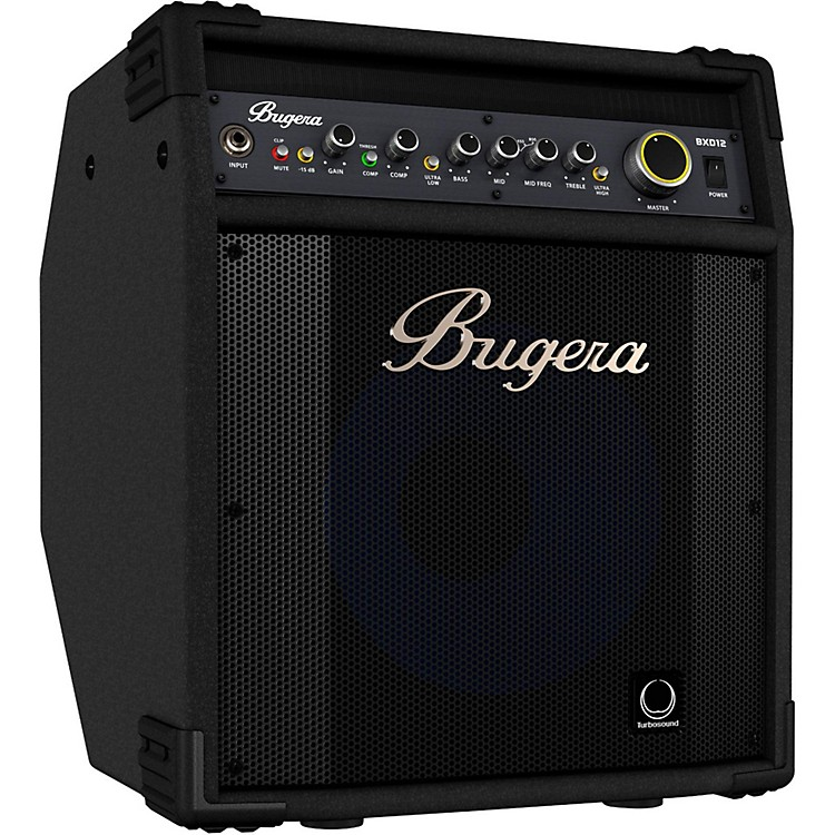 Bugera BXD12A 1,000W Bass Combo Amplifier with Aluminum-Cone Speaker Black