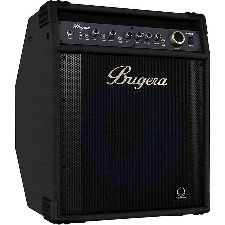 Bugera BXD15A 1,000W 1x15 Bass Combo Amplifier with Aluminum-Cone Speaker Black