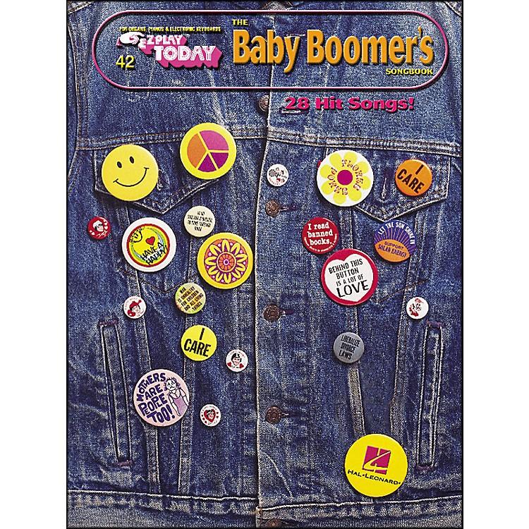 Hal LeonardBaby Boomers Songbook E-Z Play 42