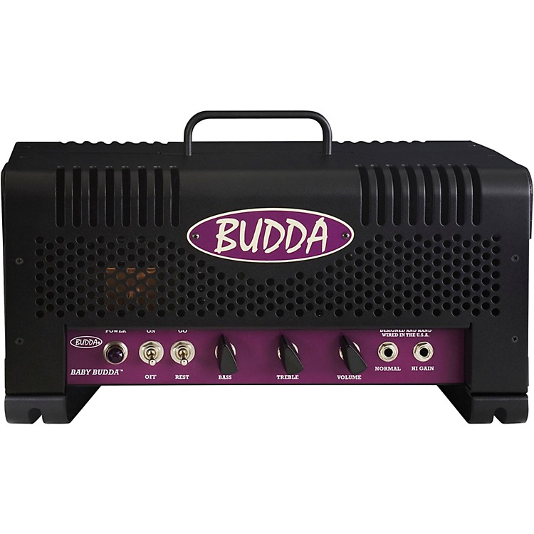 Budda Baby Budda Head 18W  Tube Guitar Combo Amp Black