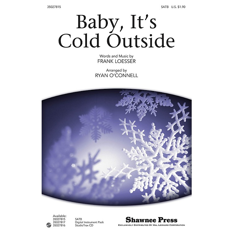 Shawnee PressBaby, It's Cold Outside Studiotrax CD Arranged by Ryan O'Connell