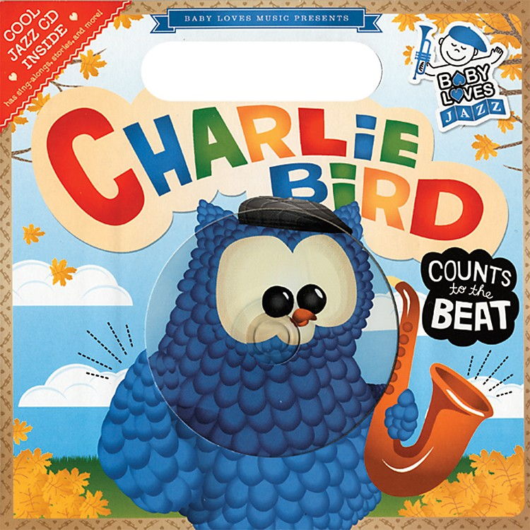 Penguin BooksBaby Loves Jazz Charlie Bird Counts to the Beat book & CD