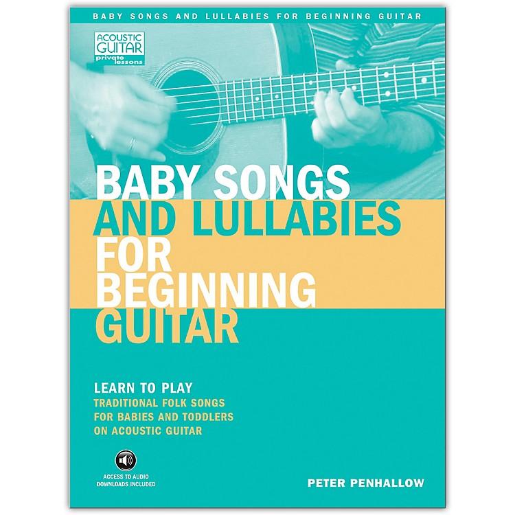 Hal LeonardBaby Songs And Lullabies for Beginning Guitar (Book/Online Audio)