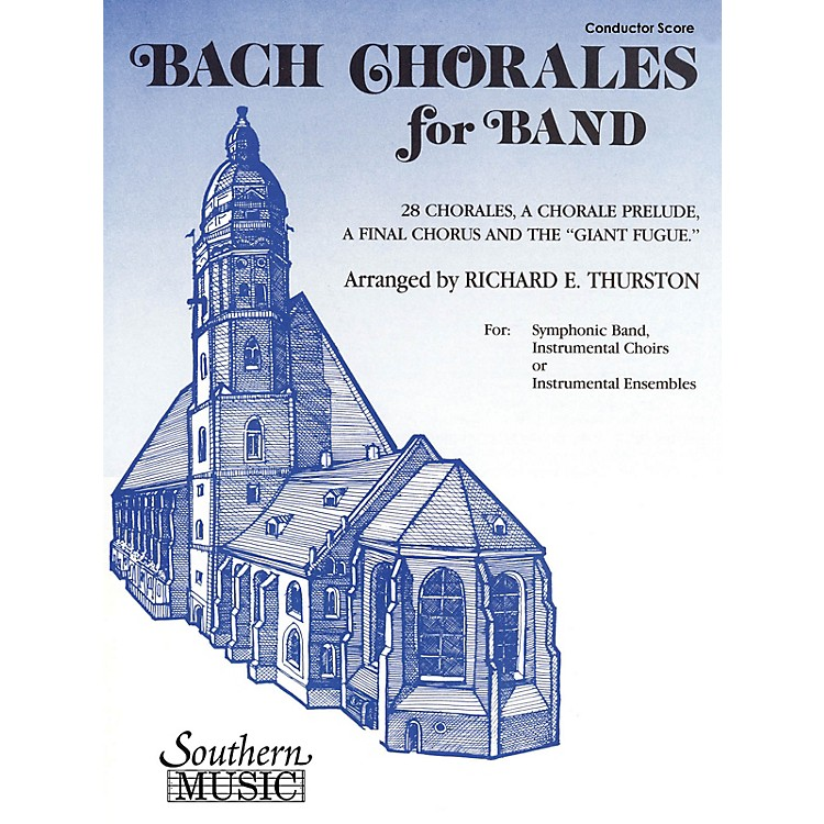SouthernBach Chorales for Band (Baritone T.C.) Concert Band Level 3 Arranged by Richard E. Thurston
