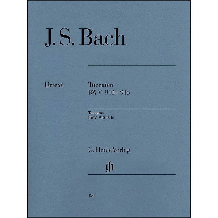 G. Henle VerlagBach Toccatas BWV 910-916 By Bach