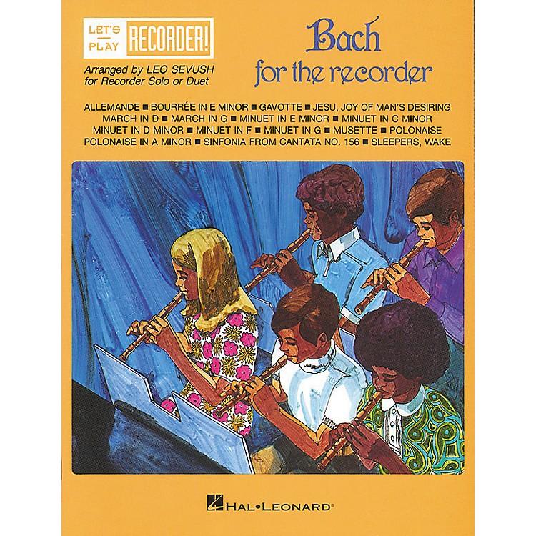 Hal LeonardBach for the Recorder
