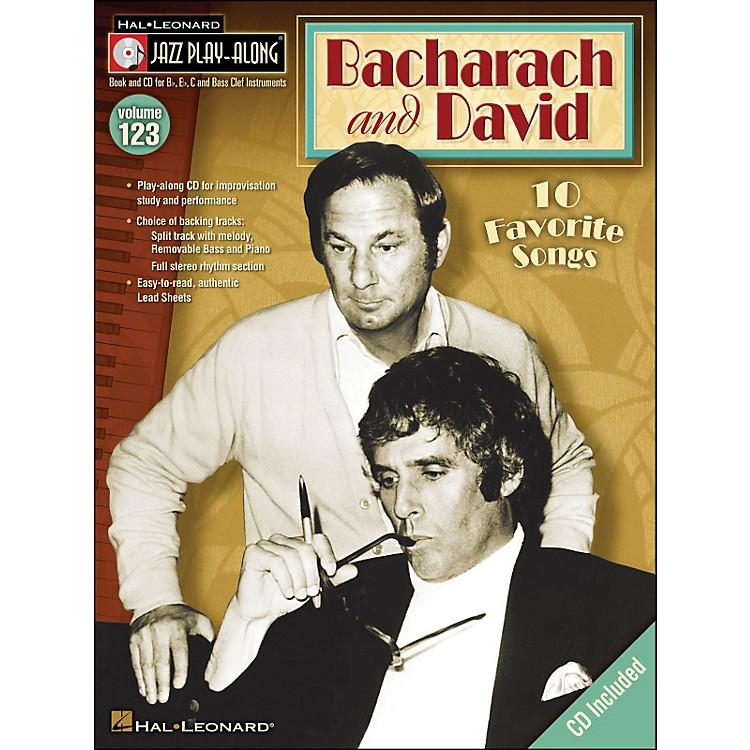Hal LeonardBacharach & David Jazz Play -Along Volume 123 Book/CD