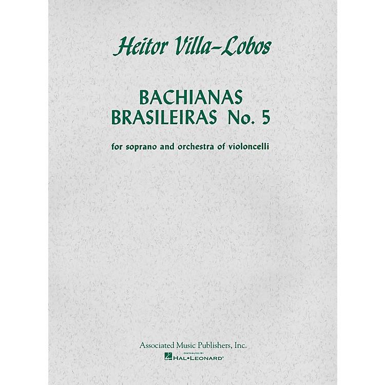 AssociatedBachianas Brasileiras No. 5 (Score and Parts) String Ensemble Series  by Heitor Villa-Lobos