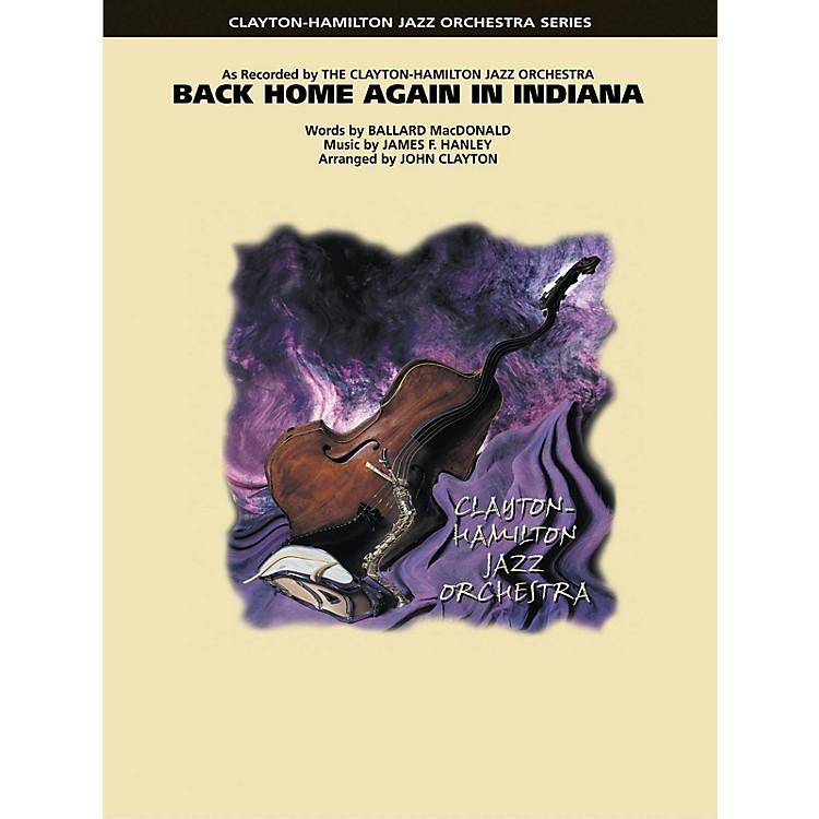 Hal LeonardBack Home Again in Indiana Jazz Band Level 5 Arranged by John Clayton
