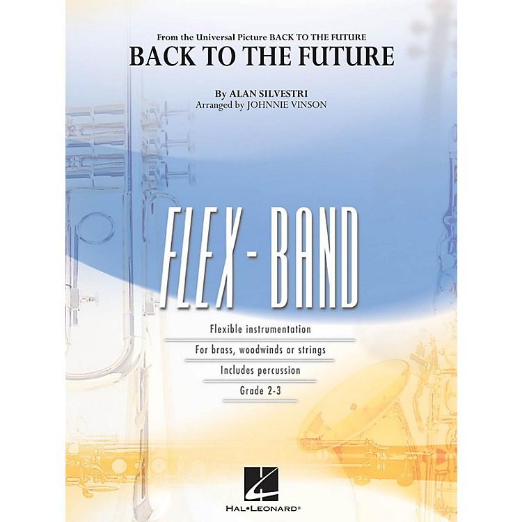 Hal LeonardBack to the Future (Main Theme) Concert Band Level 2-3 Arranged by Johnnie Vinson