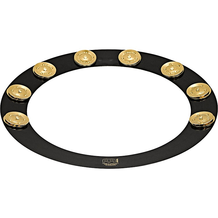 Meinl Backbeat Pro Tambourine with Brass Jingles, 13
