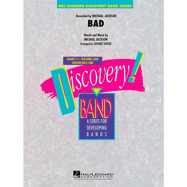 Hal LeonardBad - Discovery Concert Band Level 1