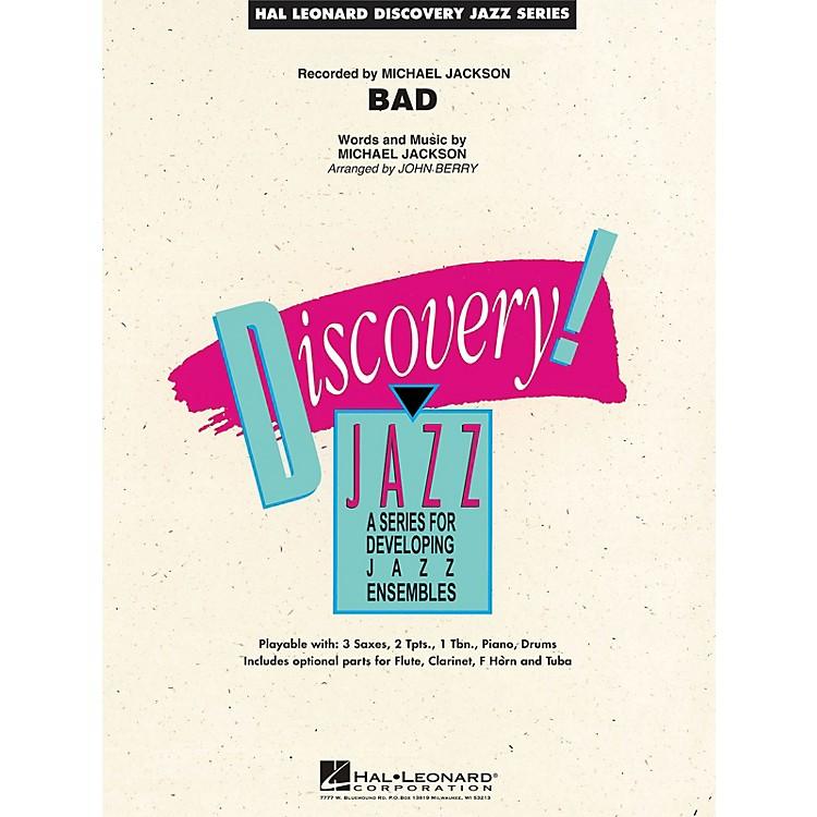 Hal LeonardBad Jazz Band Level 1.5 by Michael Jackson Arranged by John Berry