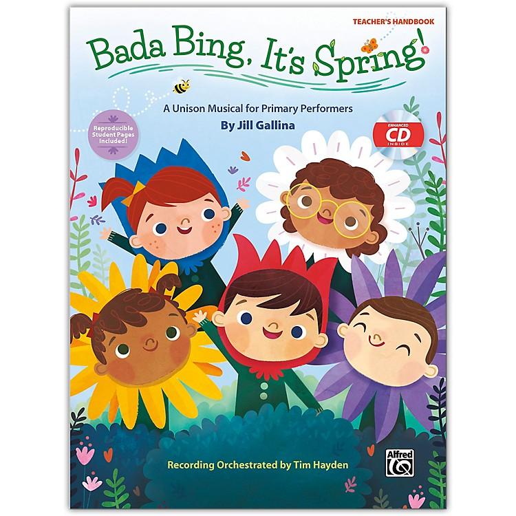 AlfredBada Bing, It's Spring! CD Kit (Book & Enhanced CD) Grades K--4