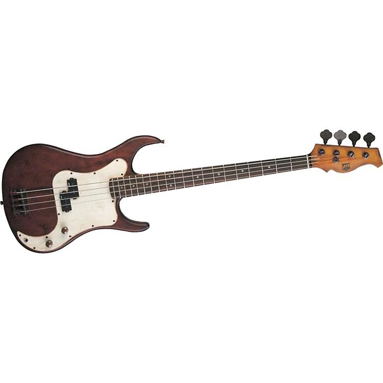 AXLBadwater AP-820 Electric Bass GuitarBrown