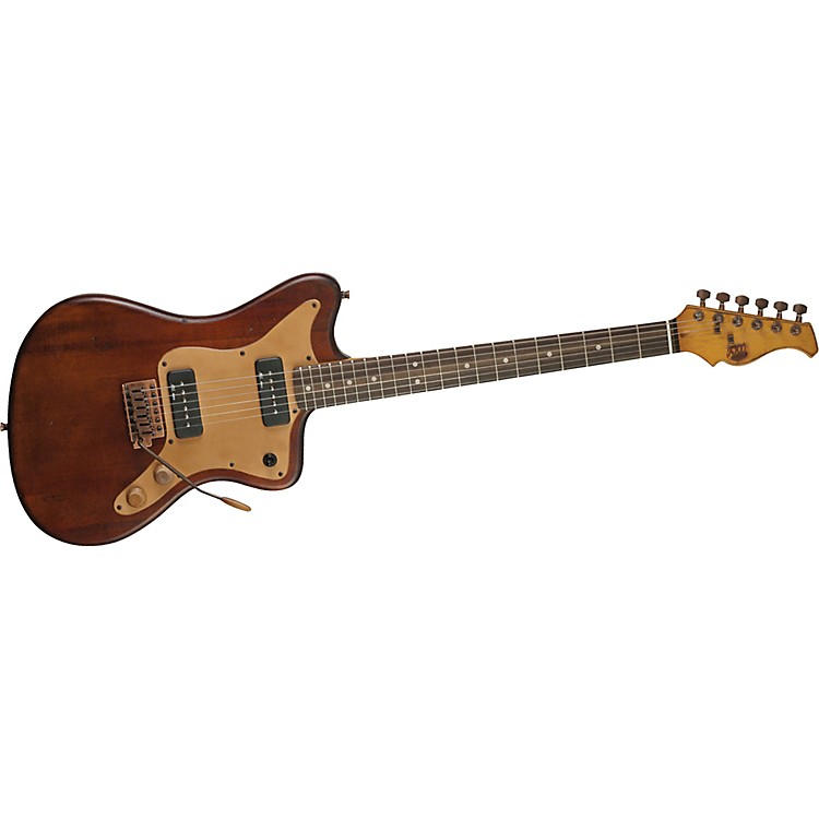 AXL Badwater MJZ Electric Guitar Antique Brown