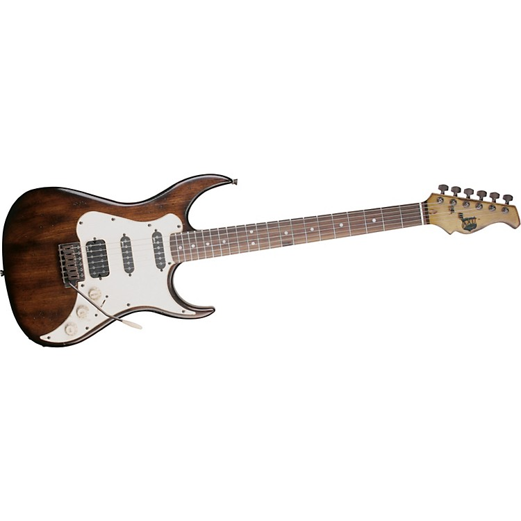 AXL Badwater SRO Electric Guitar Brown