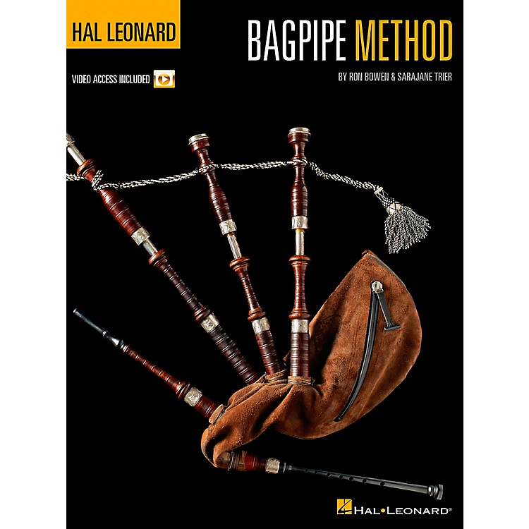 Hal Leonard Bagpipe Method Book/CD