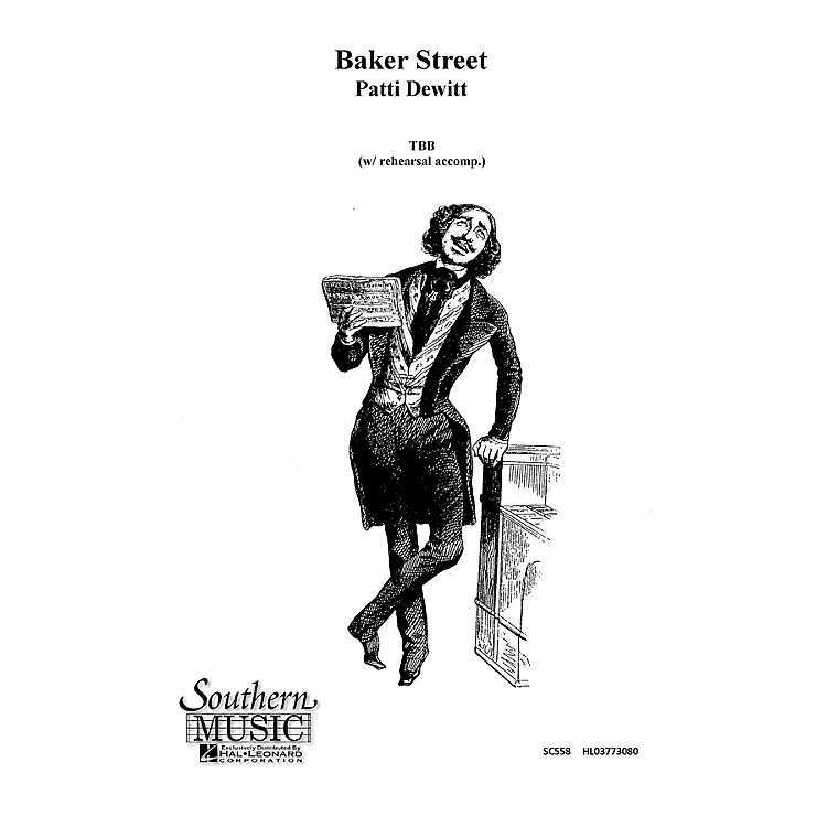 Hal LeonardBaker Street (Choral Music/Octavo Sacred Tbb) TBB Composed by Dewitt, Patti