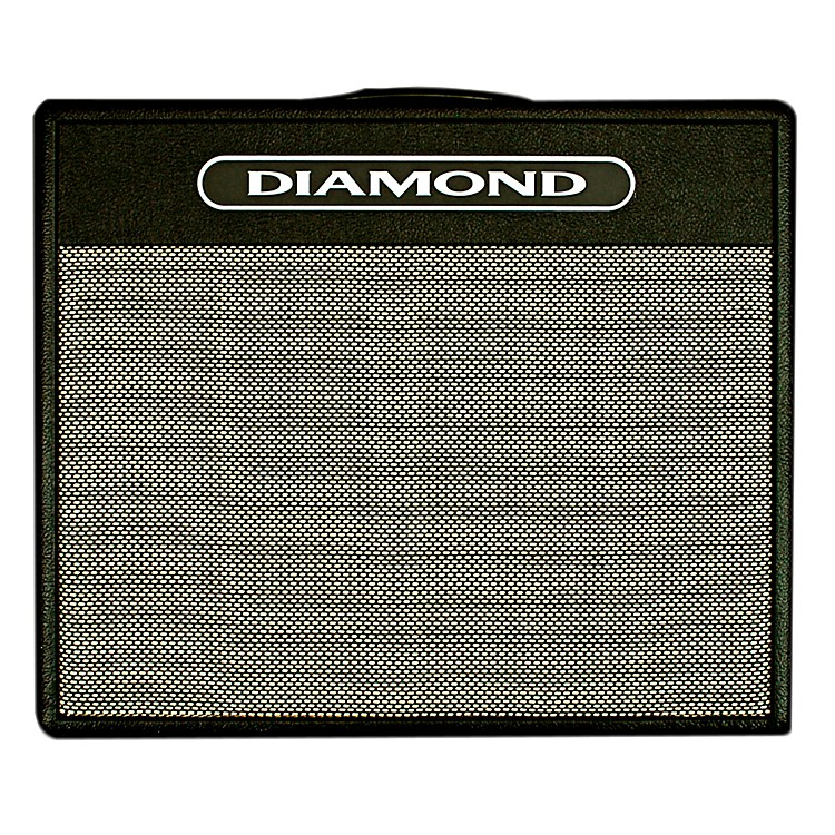 Diamond Amplification Balinese USA Custom Series 25W Tube Guitar Combo Amp Black