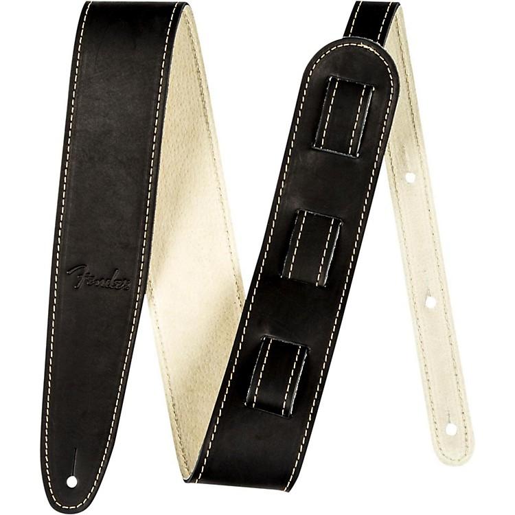 FenderBall Glove Leather Guitar StrapBlack