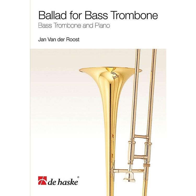 De Haske MusicBallad for Bass Trombone (Bass Trombone and Piano) De Haske Play-Along Book Series Softcover