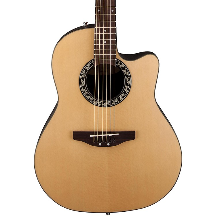 Applause Balladeer Mid Depth Bowl Acoustic Guitar Natural