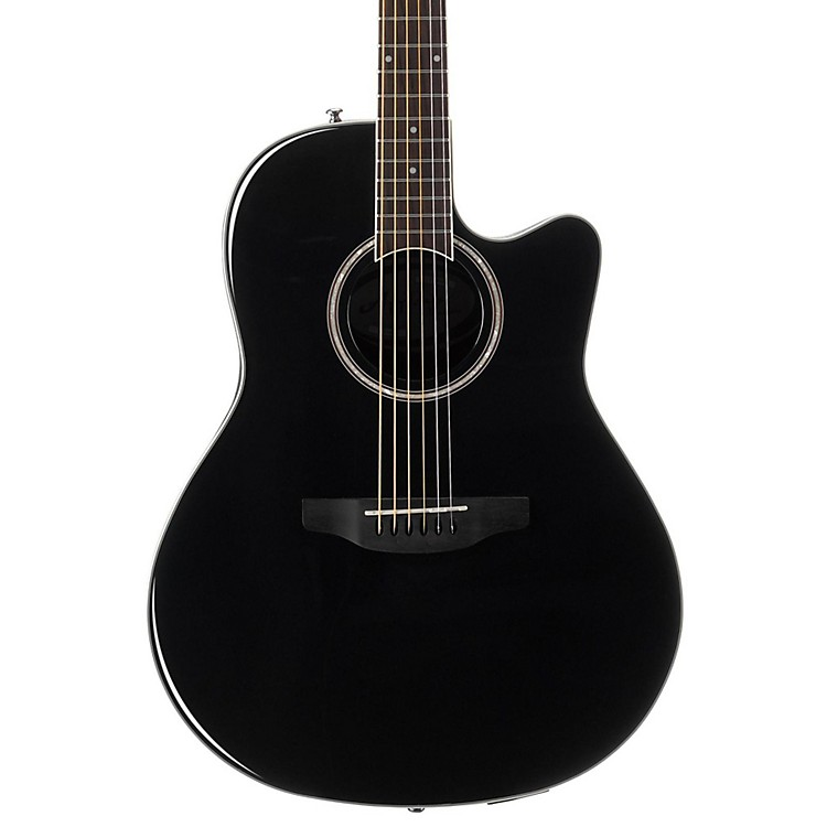 Applause Balladeer Series AB24AII Acoustic Guitar Black