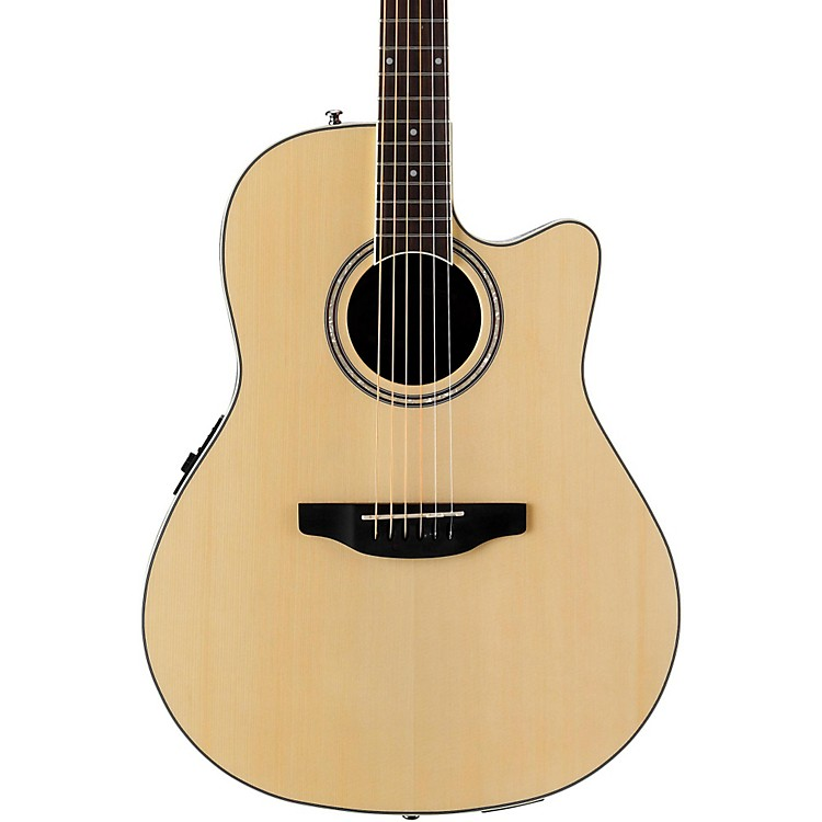 Applause Balladeer Series AB24II Acoustic-Electric Guitar Natural 190839450807
